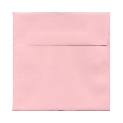 JAM Paper 6.5 x 6.5 Square Envelopes, Baby Pink, 1000/carton (21514947b) 2633090