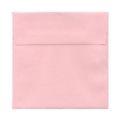 JAM Paper® 6.5 x 6.5 Square Envelopes, Baby Pink, 1000/carton (21514947b)
