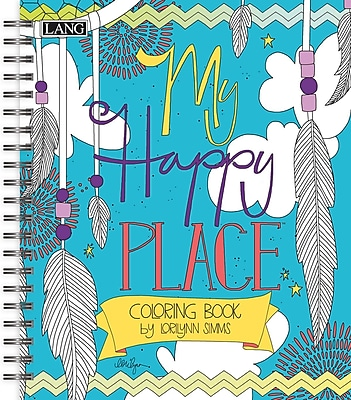 LANG Colorful Inspirations Coloring Book (1020110)