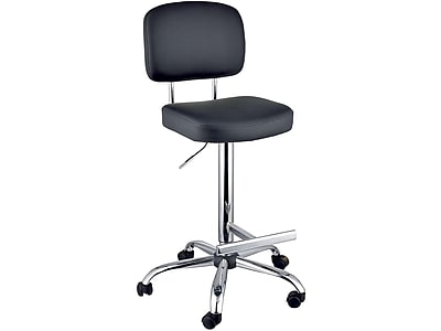 Attirant Marco Chelsea Leather Computer And Desk Chair, Black (870 01 266)