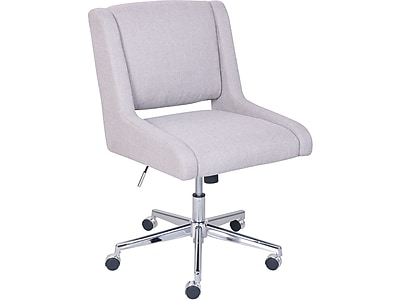 Broyhill Lynx Fabric Computer And Desk Chair, Oatmeal (46436)