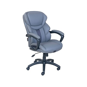 Dormeo Espo Octaspring Faux Leather Managers Office Chair, Gray (47055)