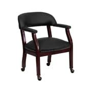 Flash Furniture Leather Conference Chair, Black (BZ100LFBKLEA)