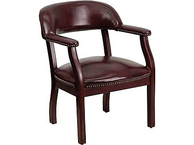 flash furniture wood conference office chair fixed arms oxblood rh staples com flash furniture white leather executive office chair flash furniture office chair reviews