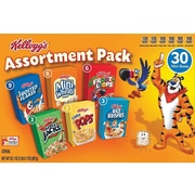Kellogg's Assorted Cereal, 30/Carton (KEE14747)