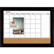 Quartet Combo Dry-Erase & Bulletin Board, Black Frame, 23'' x 35'' (79284)