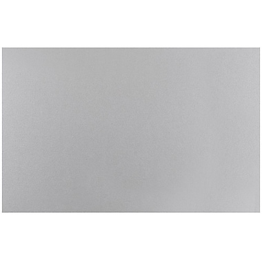 JAM Paper® Blank Note Cards, 5.75 x 9, Silver Metallic, 25/pack (17532459)
