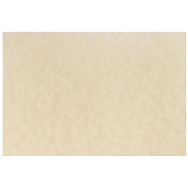 JAM Paper® Blank Note Cards, A7 size, 5 1/8 x 7, Natural Parchment, 100/pack (17531641b)