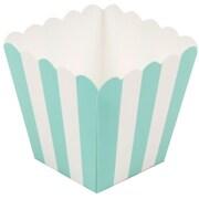 JAM Paper® Popcorn Boxes, Aqua, 10/pack (347027071)