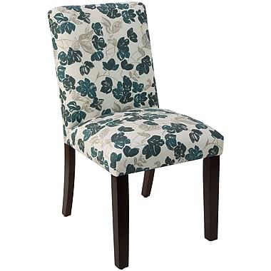 Skyline Furniture Mfg Chair in Bloom Turquoise (63-6BLMTRQOGA)