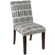 Skyline Furniture Mfg Chair in Dash Black White (63-6DSHBLCWHTOG)