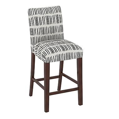 Skyline Furniture Chair in Dash Black White (63-8DSHBLCWHT)