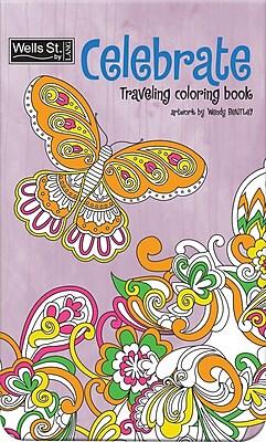 WSBL Celebrate - Coloring Travel Coloring Book (6094001)