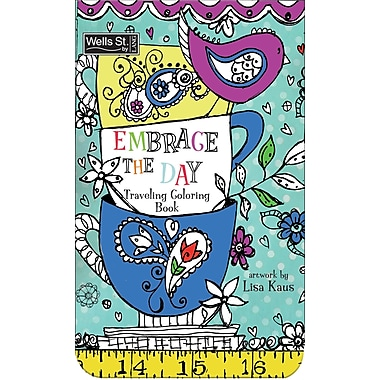 WSBL Embrace The Day - Coloring Travel Coloring Book (6094002)