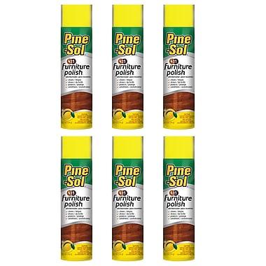 6 Pack Pine Sol Bbp0081 Furniture Polish (lemon)