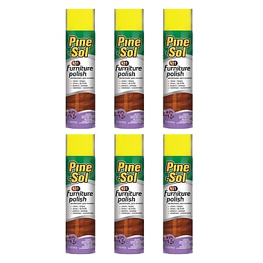 6 Pack Pine Sol Bbp0082 Furniture Polish (lavender)