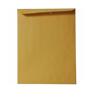 JAM Paper® 9 x 12 Open End Envelopes, Brown Kraft, 25/Pack (4132A)