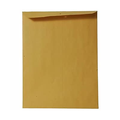 JAM Paper® 9 x 12 Open End Catalog Envelopes, Brown Kraft, 100/pack (4132)
