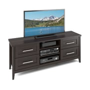 "CorLiving Jackson TV Bench for up to 60"" TVs, Espresso Finish (TJK-681-B)"