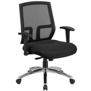 HERCULES Series 400 lb. Capacity Big & Tall Mesh Mid-Back Executive Swivel Office Chair  (CPA337A01)
