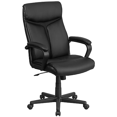 Flash Furniture High Back Black Leather Executive Swivel Office Chair (GO21961)