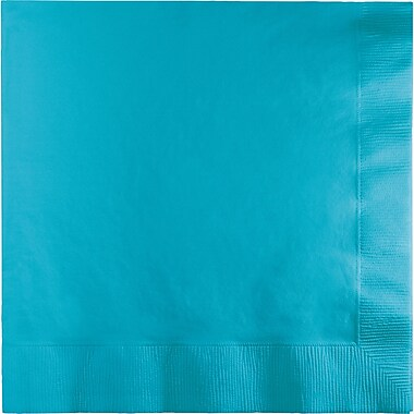 Touch of Color Bermuda Blue Napkins, 6.5 x 6.5, 50 pk