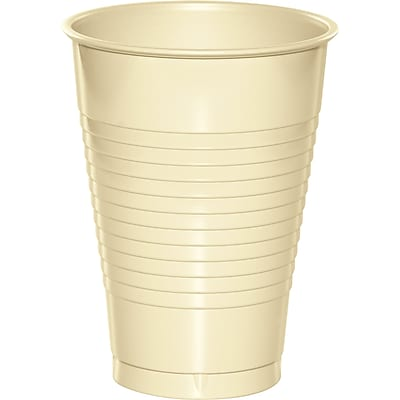 Touch of Color Ivory 12 oz Plastic Cups, 20 pk (28161071) 2634456