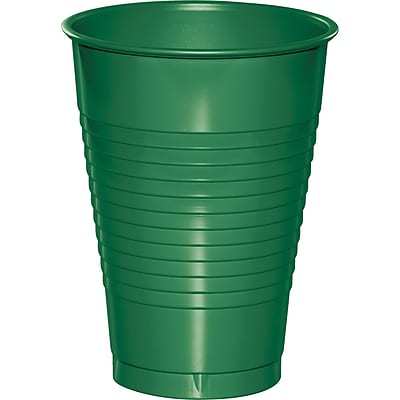 Touch of Color Emerald Green 12 oz Plastic Cups, 20 pk (28112071) 2634507