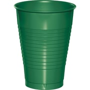 Touch of Color Emerald Green 12 oz Plastic Cups, 20 pk (28112071)
