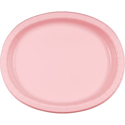 Touch of Color Classic Pink Oval Plates, 8 pk (433274)
