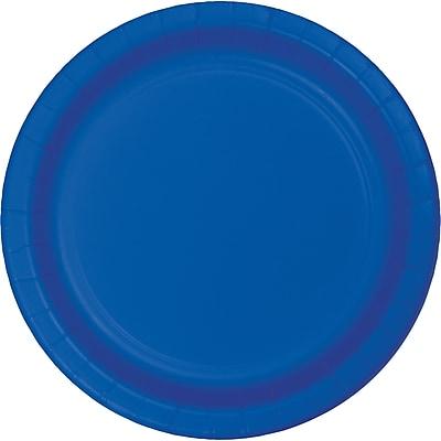 Touch of Color Cobalt Blue Paper Plates, 24 pk (473147B)