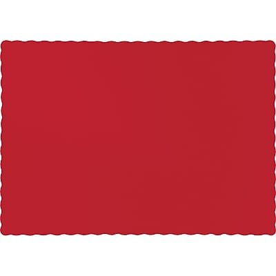 Touch of Color Classic Red Placemats, 50 pk (863548B)