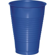 Touch of Color Cobalt Blue 12 oz Plastic Cups, 20 pk (28314771)