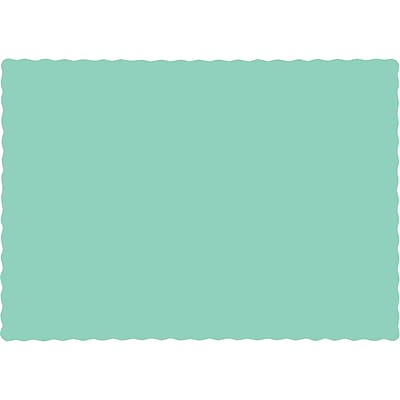 Touch of Color Fresh Mint Green Placemats, 50 pk (318898)