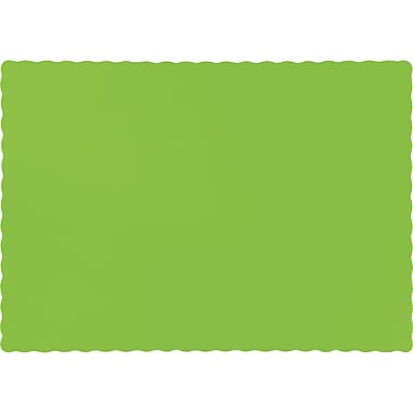 Touch of Color Fresh Lime Green Placemats, 50 pk (863123B)