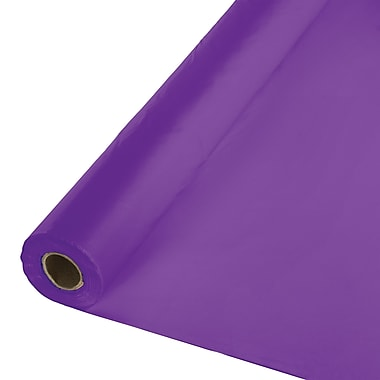 Touch of Color Amethyst Purple Plastic Banquet Roll (318934)