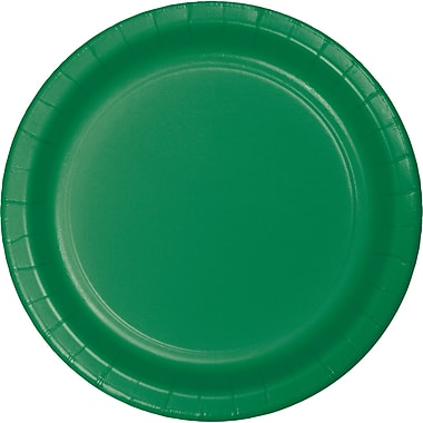Touch of Color Emerald Green Paper Plates, 24 pk (47112B)