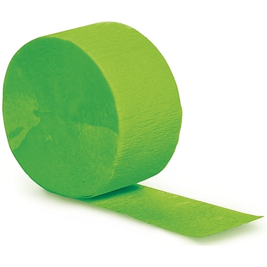Touch of Color Fresh Lime Green Streamer (077123)