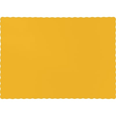 Touch of Color School Bus Yellow Placemats, 50 pk (863269B)