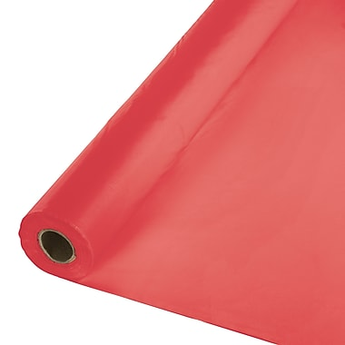 Touch of Color Coral Plastic Banquet Roll (763146)