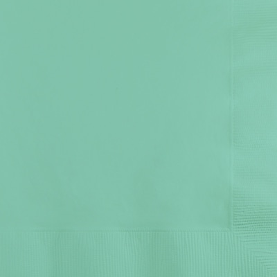 Touch of Color Fresh Mint Green Beverage Napkins, 50 pk
