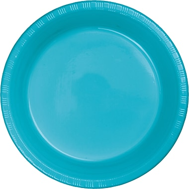 Touch of Color Bermuda Blue Plastic Dessert Plates, 20 pk (28103911)