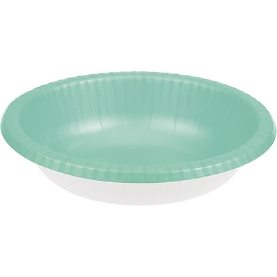 Touch of Color Fresh Mint Green Paper Bowls, 20 pk (318874)