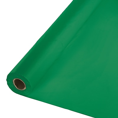 Touch of Color Emerald Green Plastic Banquet Roll (013006)