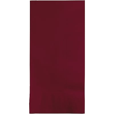 Touch of Color Burgundy Red Napkins, 100 pk