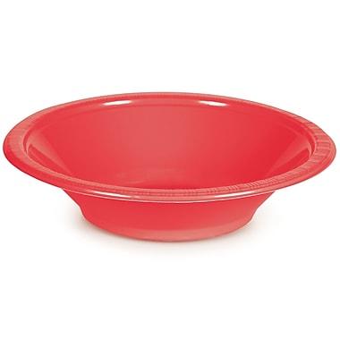 Touch of Color Coral 12 oz Plastic Bowls, 20 pk (28314651)