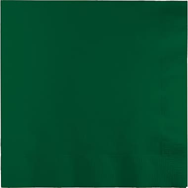 Touch of Color Hunter Green Napkins, 6.5 x 6.5, 50 pk