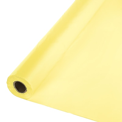 Touch of Color Mimosa Yellow Plastic Banquet Roll (013014)