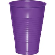 Touch of Color Amethyst Purple 12 oz Plastic Cups, 20 pk (318921)