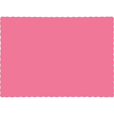 Touch of Color Candy Pink Placemats, 50 pk (863042B)